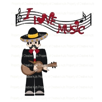 Fiesta Time Guitar Player