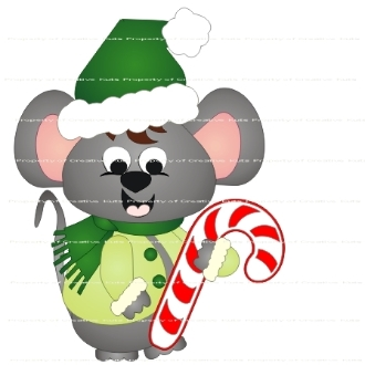 Manny Mouse Christmas