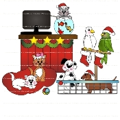 Christmas Pet Shop
