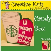 Coffee Cup Candy Box