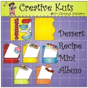 Dessert Recipe Mini Album