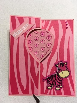 Heart Swing Card