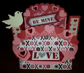 Heart Shelf Card