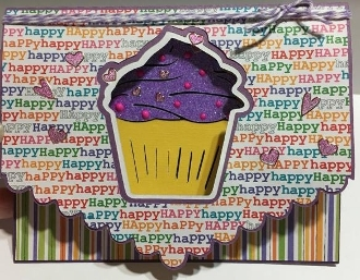 Cupcake Punch Out Card