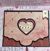 Heart Punch Out  Card