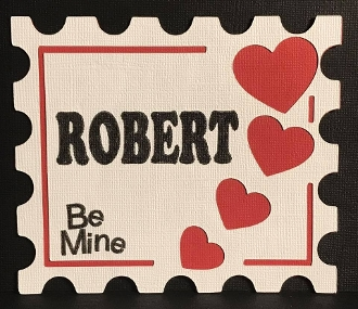 Be Mine Stamp Card