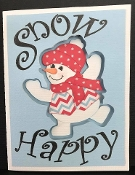 Snow Happy Card