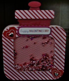 Candy Jar Shaker Card