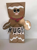 Gingerbread Pop Up Card
