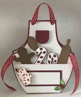 Christmas Apron Card