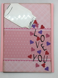 Love Jar Card