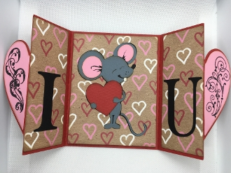 Mouse Heart Card