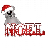 Mouse Noel Card
